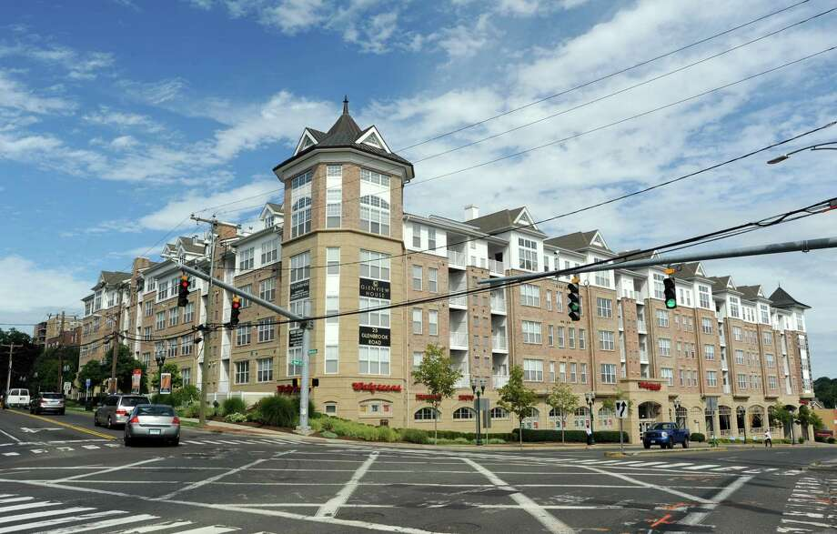 Glenview House, a 146-unit apartment building in Stamford, Conn. is the second apartment project that Israel-based Clal has bought to the city in a month. Photo: Cathy Zuraw / Stamford Advocate