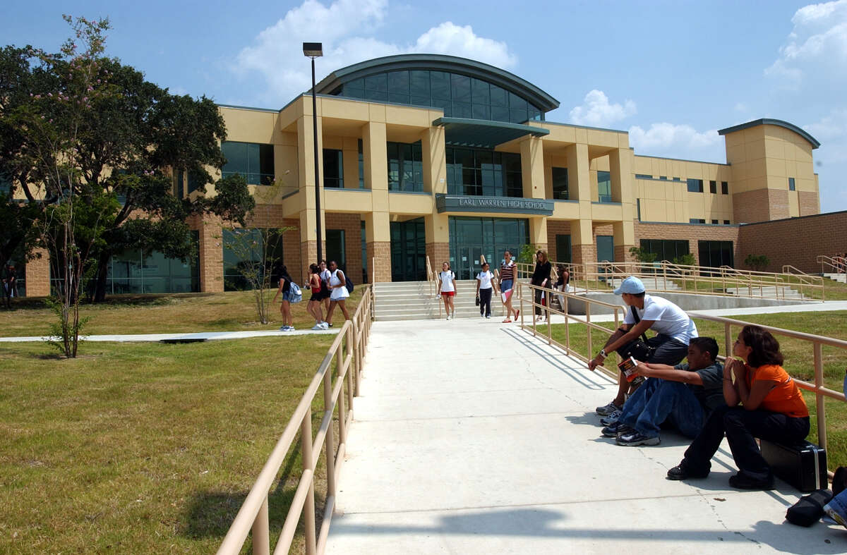 Warren High School in Northside ISD is named for ...