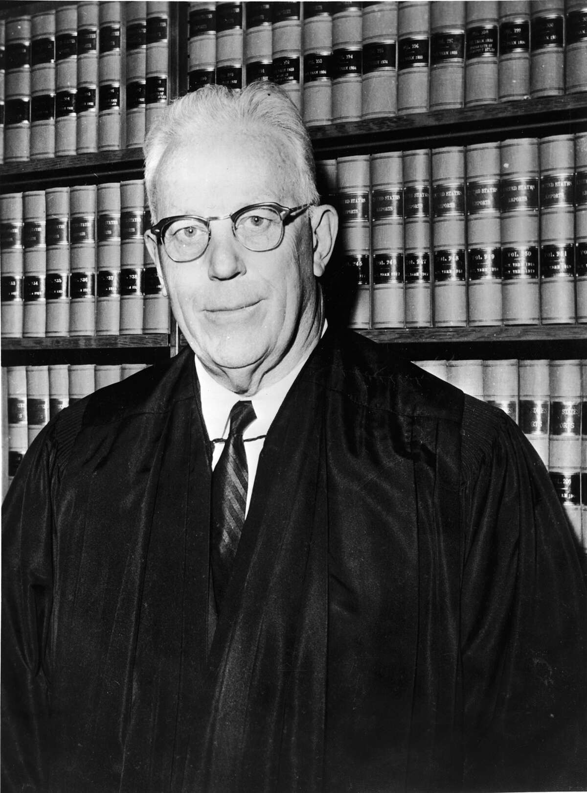 ... Earl Warren, the 14th chief justice of the U.S. Supreme Court, who served from 1953 to 1969. Before that, he was the governor of California.