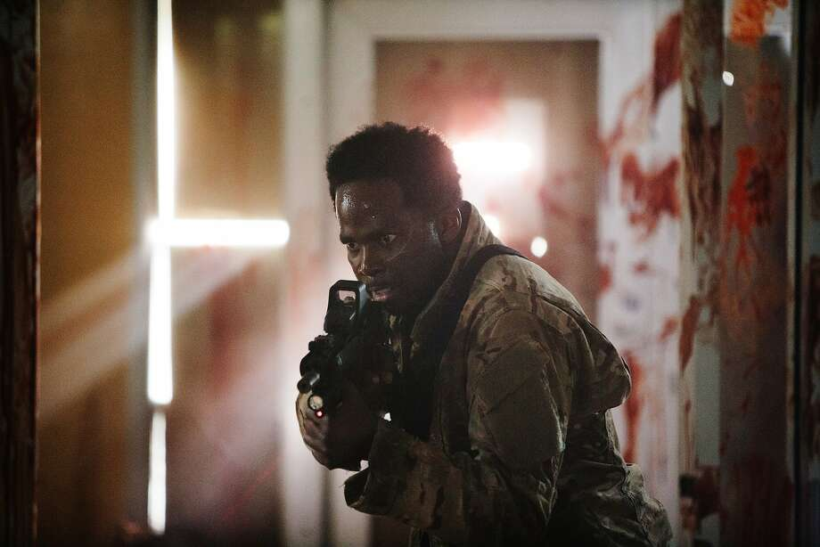 """Harold Perrineau leads a band of humans struggling to survive in a world full of zombies in the first episode of """"Z Nation,"""" a new series produced for the SyFy Channel by the Asylum, the studio behind """"Sharknado."""" Photo: Oliver Irwin, SyFy"""