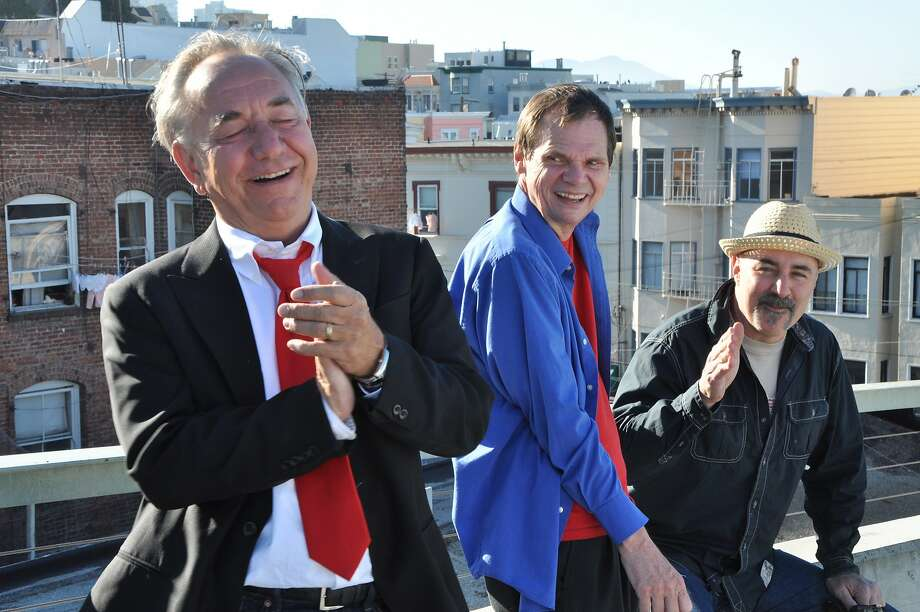 "San Francisco comedians Will Durst (left), Larry ""Bubbles"" Brown and Johnny Steele, in ""3 Still Standing,"" focusing on the city's comedy scene in the 1980s. Photo: Beanfield Productions"