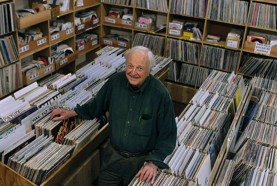Chris Strachwitz, owner of the Down Home Music Store and founder of the Arhoolie label, is the subject of a documentary. Photo: Paul Chinn, The Chronicle
