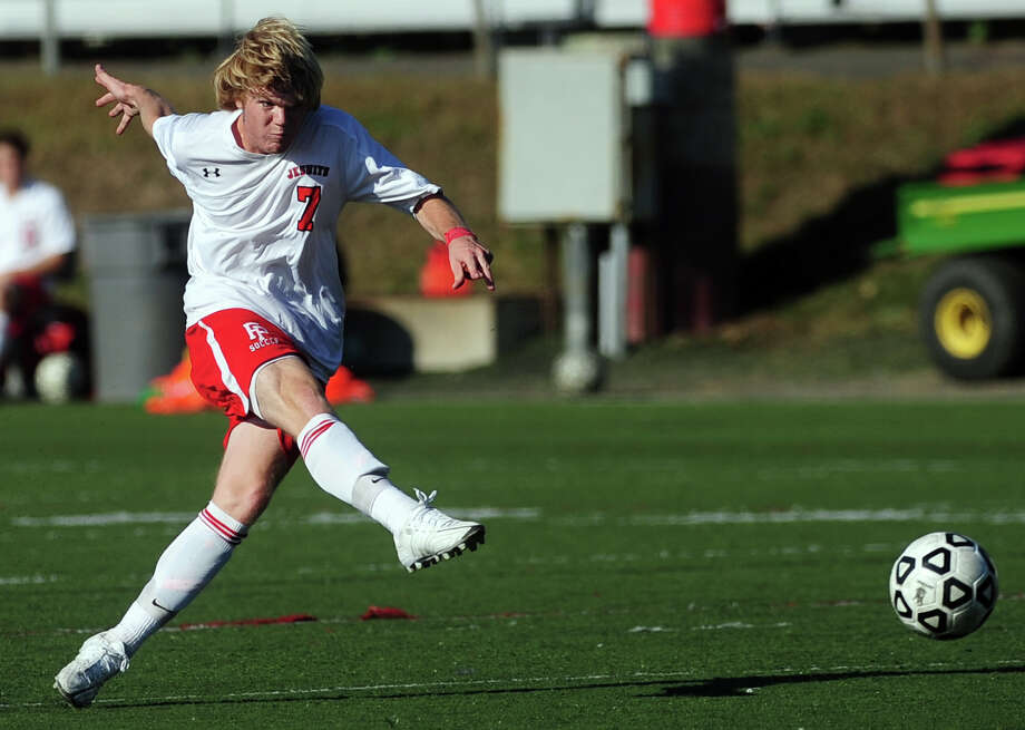 Fairfield Prep midfielder Chris Montani is among a solid corps of veterans who return for the Jesuits soccer team. Photo: Christian Abraham / Connecticut Post