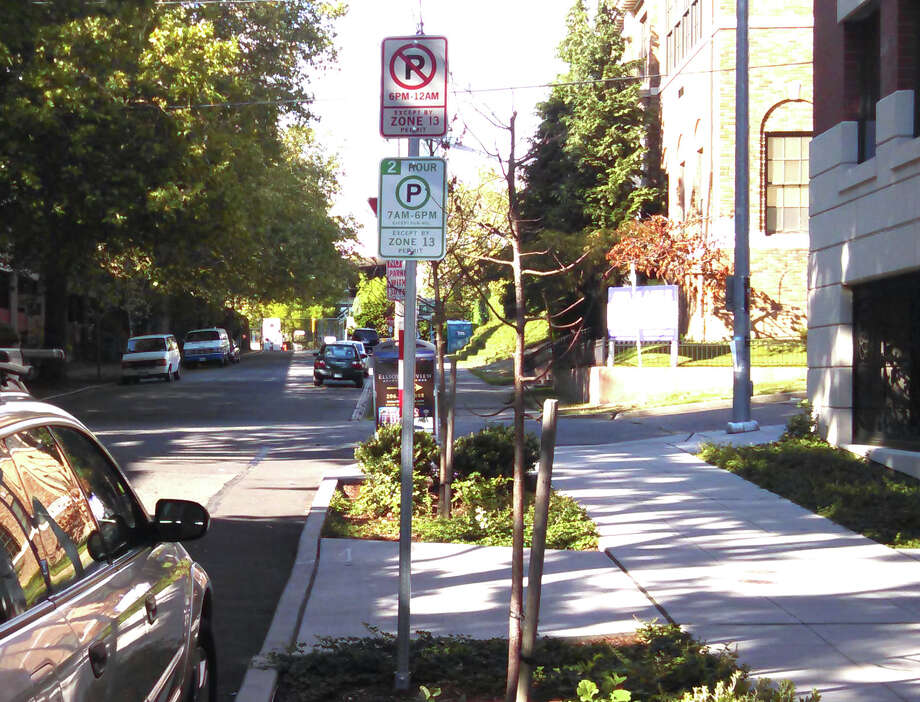 People treat my street as a park-and-ride. How can I get parking restricted to residents? Photo: Aubrey Cohen/seattlepi.com