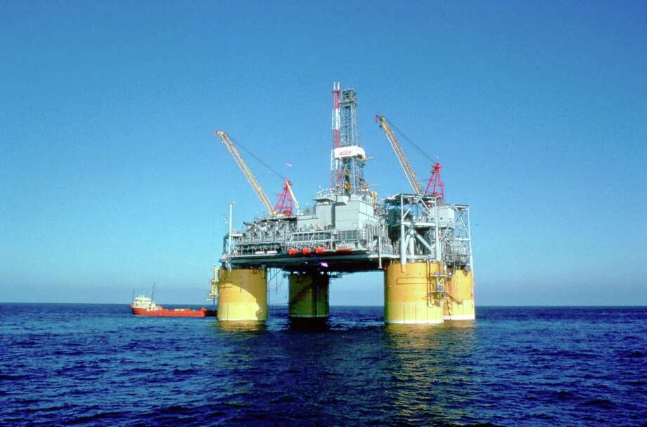 Shell Oil expects to add 50,000 barrels of oil equivalent to the daily output of its 20-year-old Auger Production Platform when it ties into the Cardamom Field under the Gulf of Mexico. Photo: Shell Oil Co., Shell Auger Cardamom Gulf