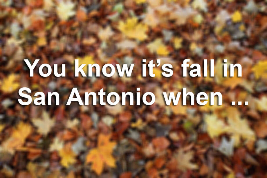 Could fall be upon us here in South Texas? A cool, cloudy and humid weekend is on deck for San Antonio and 