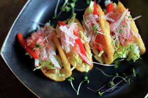 The Tacos Dorados at Hugo's.