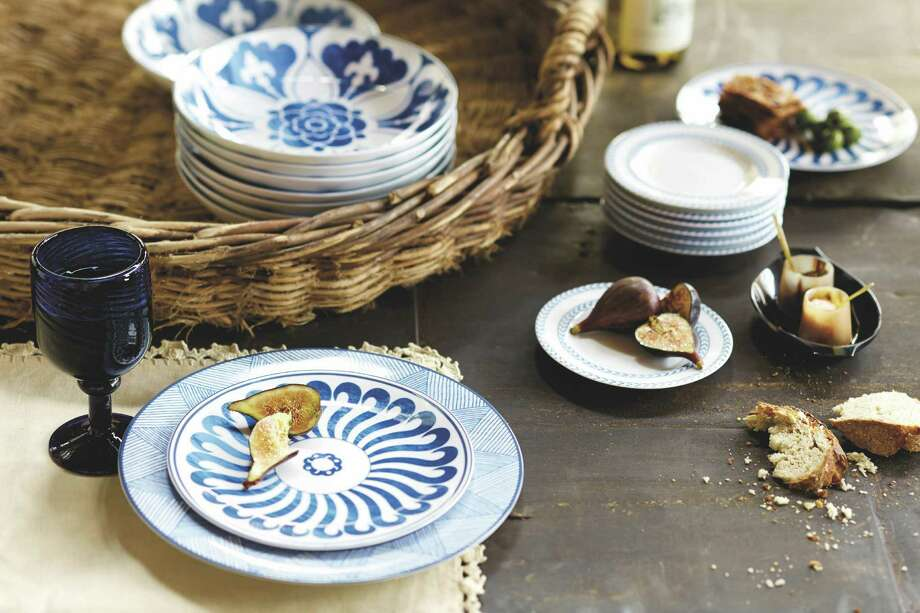 Designer Bunny Williams has created a new collection of tabletop items and home accessories for Ballard Designs, available starting Sept. 25.