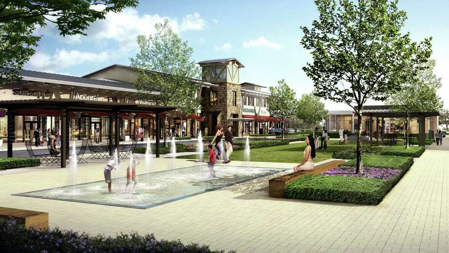 As The Focal Point Of New Creekside Park Village Center Is Green