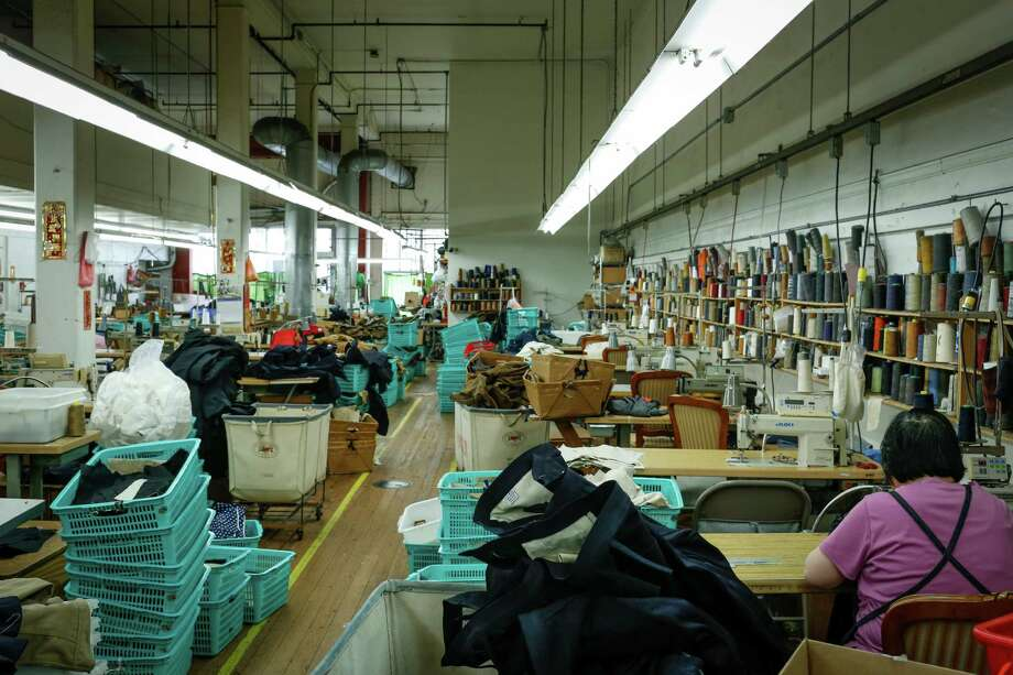 Seamaid Manufacturing employs 60 to 80 workers in S.F. making 20 to 30 brands. Photo: Russell Yip, Staff / The Chronicle / ONLINE_YES