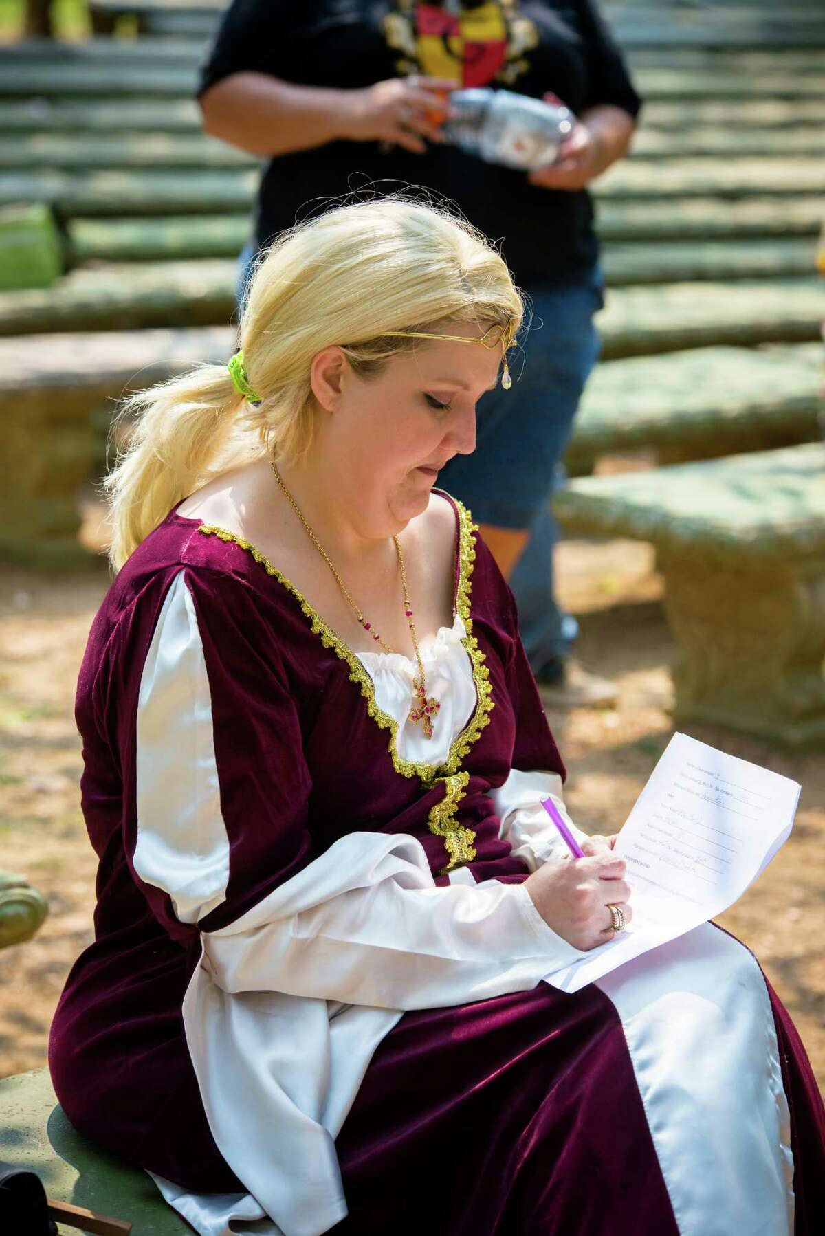 """The Texas Renaissance Festival is looking for a few good wenches and hawkers to man their upcoming 40th season up in Todd Mission and this coming weekend they are holding a """"job faire"""" for any interested parties looking to make some extra cash using the King's English."""