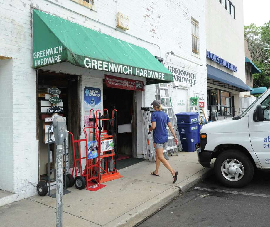 The Greenwich Hardware store at 195 Greenwich Avenue, Greenwich, Conn., Tuesday, Sept. 9, 2014.  Photo: Bob Luckey / Greenwich Time