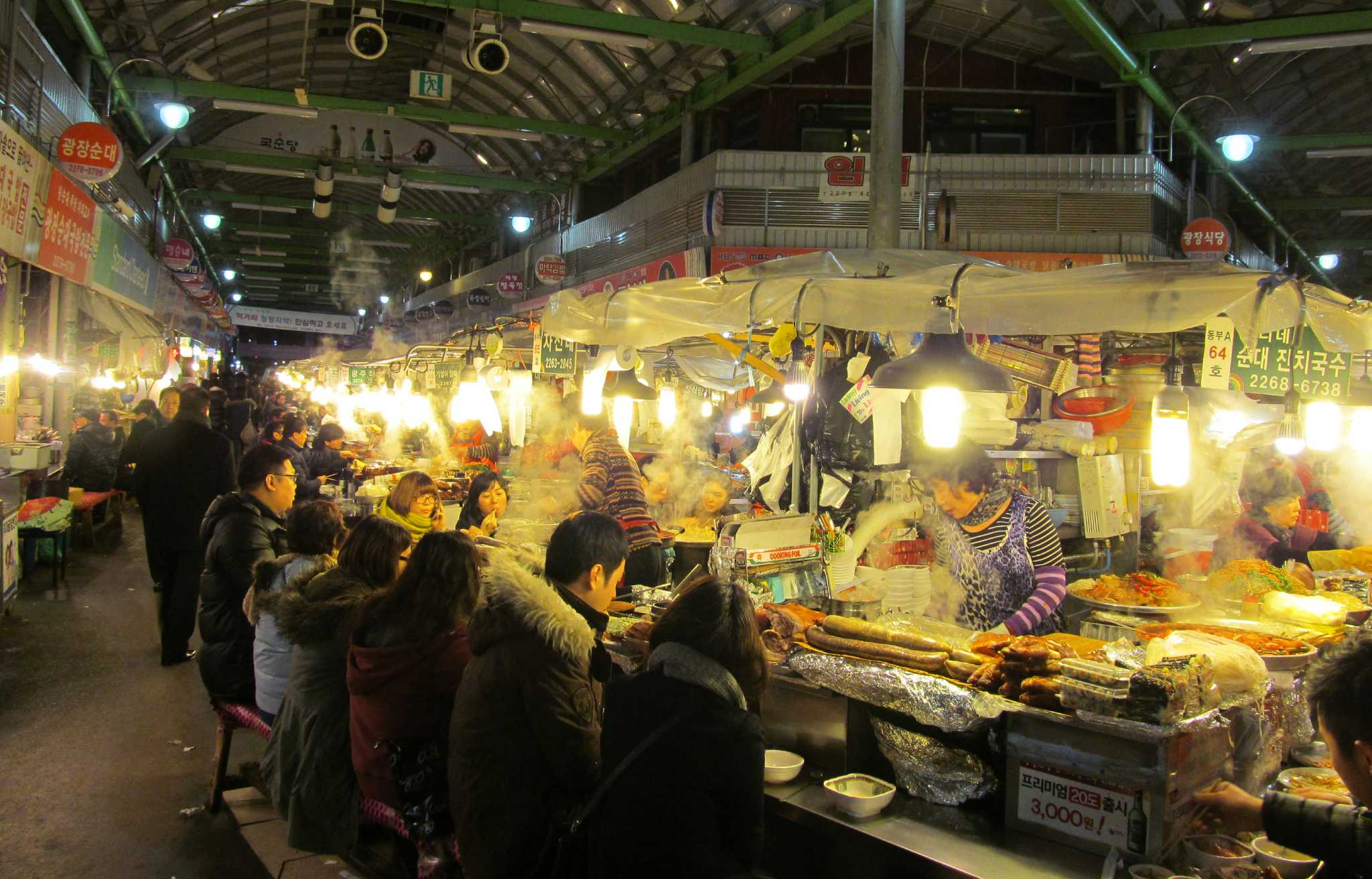 Seoul: Trains, fast cell service, palaces and food ...