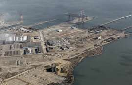 The former naval shipyard at Hunters Point is ready for development in San Francisco, Calif. on Friday, Sept. 28, 2012.