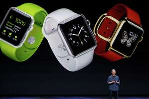 Want to try on an Apple Watch? You'll need an appointment - Photo
