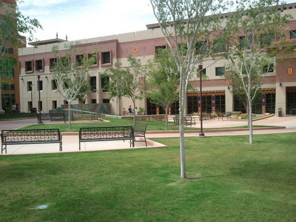 T-8. The University of Texas at El Paso: 10