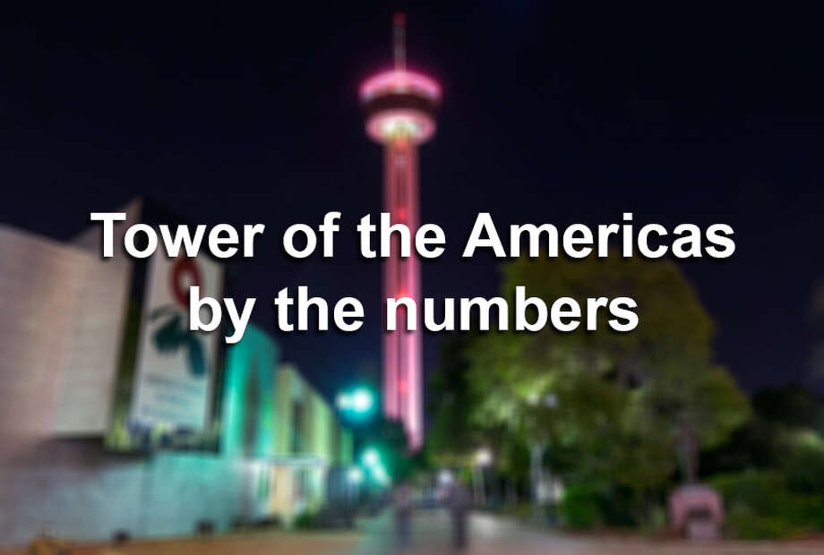 The Tower of the Americas turned 45 in 2013! Click ahead for 20 facts offering a numerical look at the distinct landmark on San Antonio's skyline.