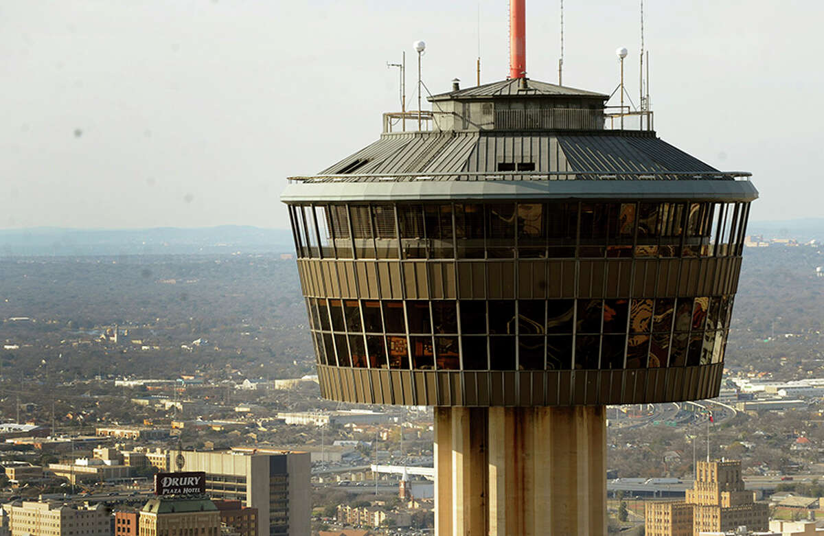 The Tower was built in 14 months, and opened to the public April 11, 1968, just days after the start of the fair. Here's a look at how the Tower took shape.PHOTO: The Tower of the Americas looms over the city of San Antonio on Jan. 19, 2011.