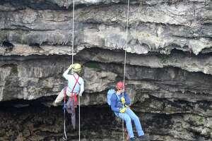 Devil's Sinkhole is located near Rocksprings.