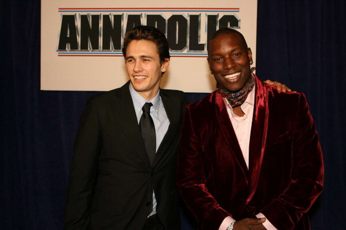 James Franco and Tyrese Gibson Source: therichest.com