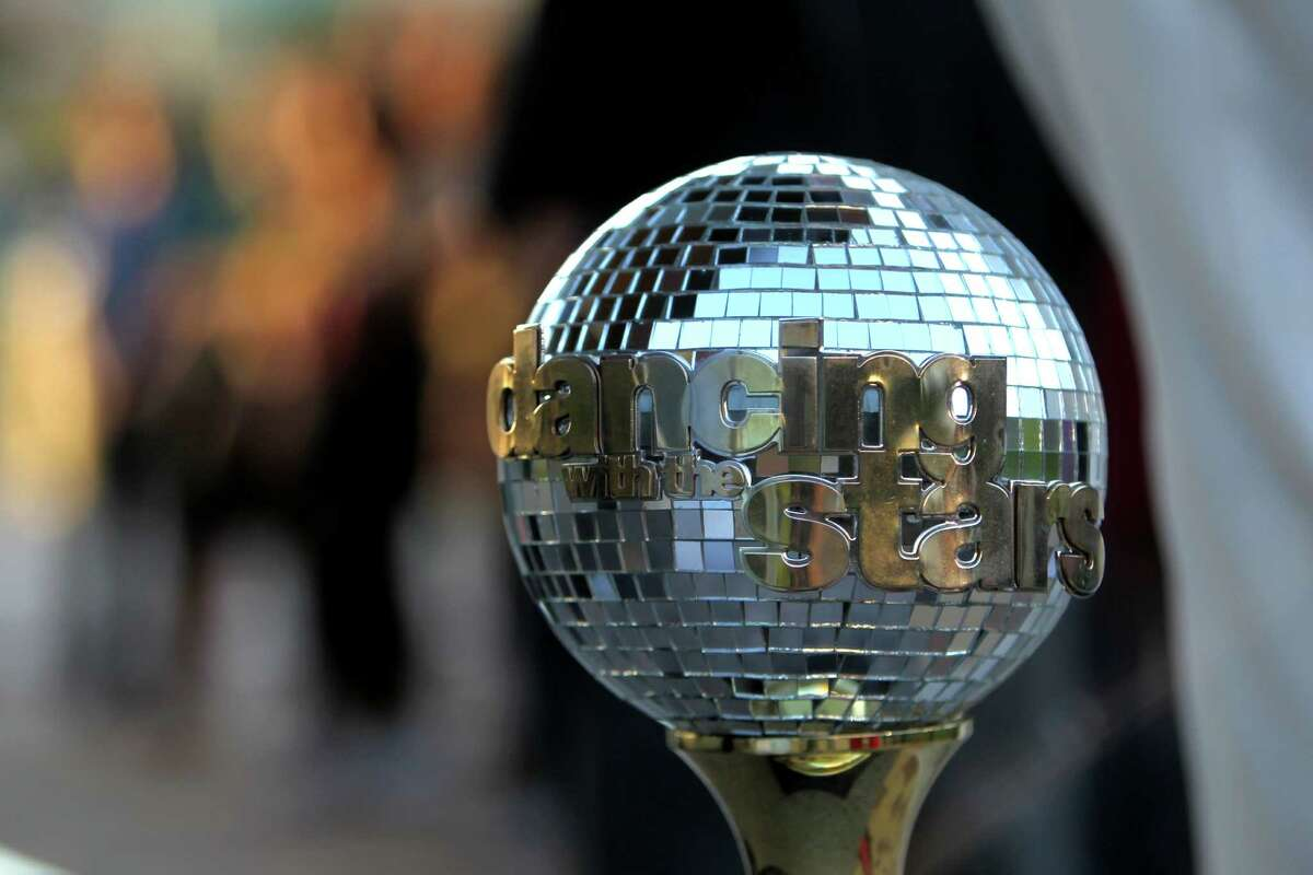 """Good Morning America's """"Shake It and Dance Mirror Ball Tour"""" judged by J.R. Martinez and Cameron Mathison at Discovery Green Wednesday, Sept. 10, 2014, in Houston, Texas. The winner of the dance off won two tickets to the """"Dancing With The Stars"""" season premiere in Los Angeles, California."""