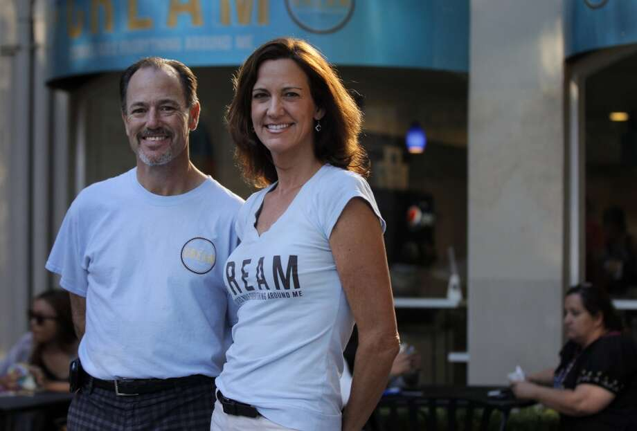 Owners Mark Stites and Stephanie Marrone outside of CREAM on Main Street September 5, 2013 in Walnut Creek, Calif. The two opened the shop in early August and say business has been going very well for them so far. Photo: The Chronicle
