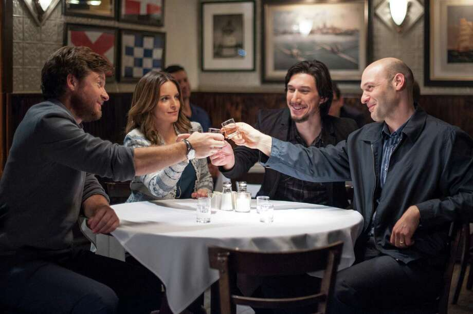 """'This Is Where I Leave You'  Date: Sept. 19  Buffet equivalent: Make-your-own taco bar  Analysis:  We're due for a memorable ensemble drama-comedy """"Parenthood"""" clone, and  this one looks solid. Tina Fey, Jason Bateman, Corey Stoll and Adam  Driver are siblings who must stay in their dysfunctional home for a week  after their dad dies. Jane Fonda has several great lines as a  funny/crazy widow. Director Shawn Levy (""""Night at the Museum"""") may be  Hollywood's most prolific director-producer. We're a little worried this  film may suffer the """"Neighbors"""" effect; a great-looking trailer that  includes all the best jokes.  Best-picture odds: 50-1 Photo: Nicole Rivelli, Photographer / (c) 2013 Warner Bros. Entertainment Inc."""
