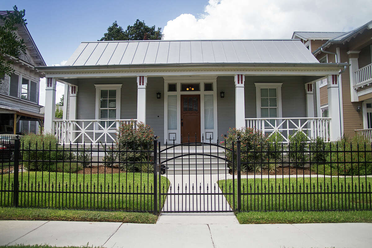 This home in the Tobin Hill neighborhood was built in 1905 and recently remodeled by Cody Doege.