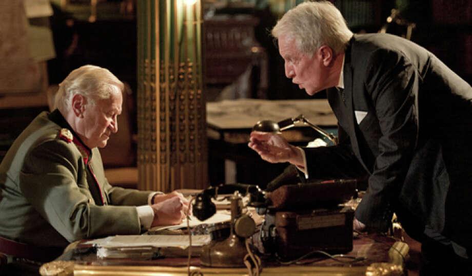"Niels Arestrup, left, and Andre Dussollier in ""Diplomacy"" Photo: Zeitgeist Films / Zeitgeist Films / ONLINE_YES"
