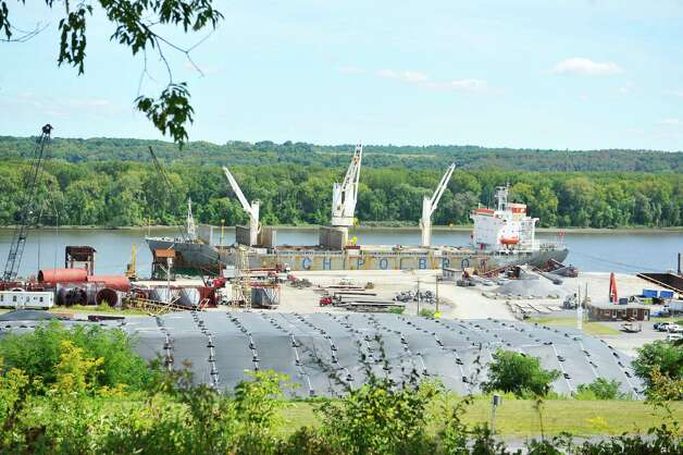 A view of the Port of Coeymans on Wednesday, Sept. 10, 2014, in Coeymans, N.Y.  (Paul Buckowski / Times Union) Photo: Paul Buckowski