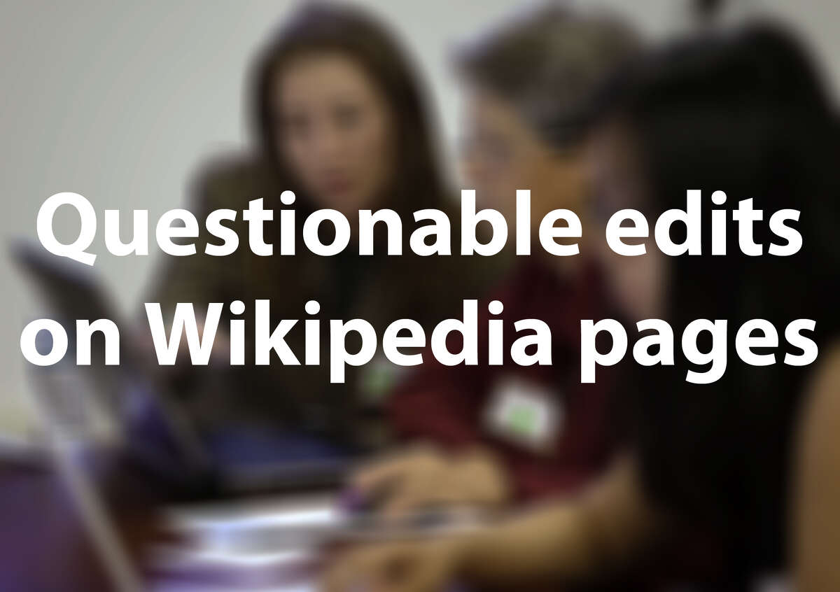 Recently, Wikipedia banned the House of Representatives from editing the online encyclopedia for a month after an unidentified staffer began posting transphobic remarks on some pages. Congressmen are no stranger to having their Wikipedia pages edited. See some of the more suspicious writings that have appeared on the pages of your Texas representatives.