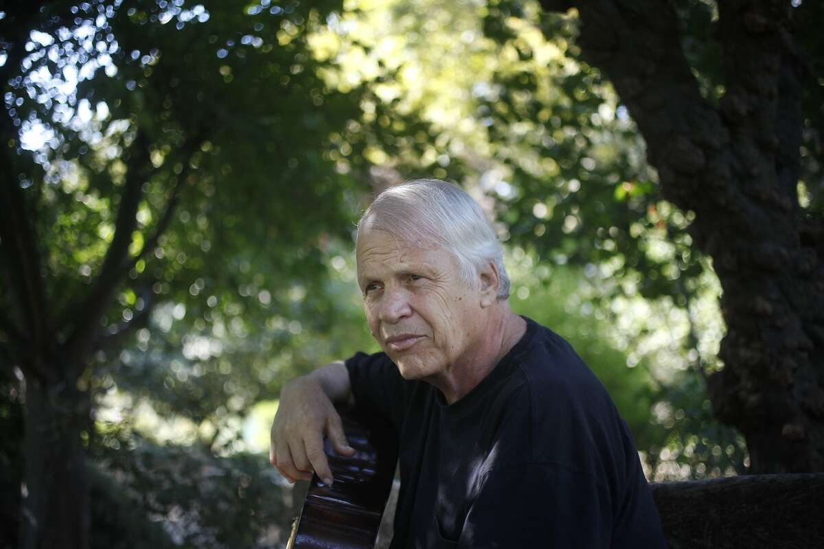 Barry Melton, 67, pictured Sept. 10, 2014 in Davis, Calif. This Saturday night Melton and his band will be playing at The Saloon in North Beach for the last time after 32 years of playing the venue.