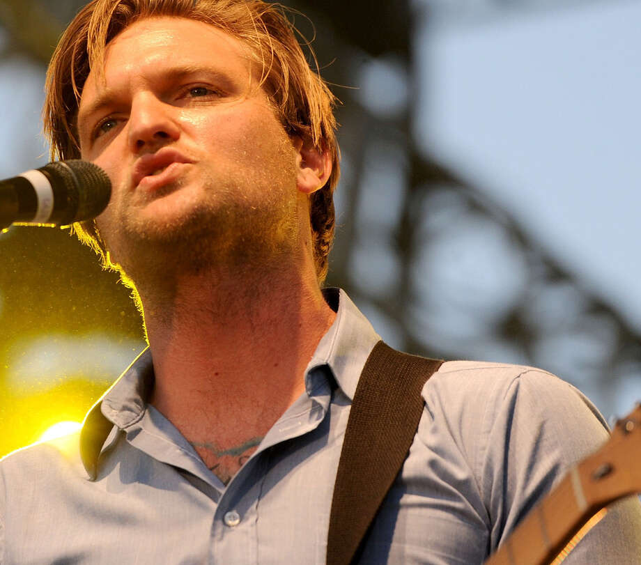 Nathan Willett of Cold War Kids performs at the Coachella Festival in California. The Cold War Kids will appear Saturday night at Utopiafest. Photo: Getty Images