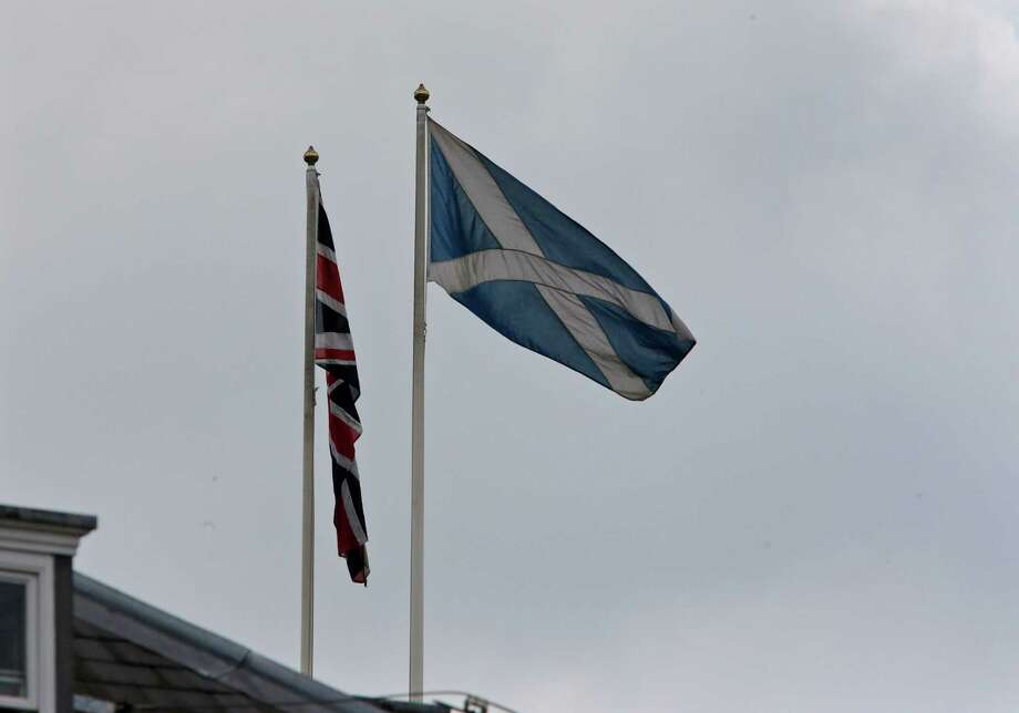 The Scottish decided not to leave the United Kingdom, which would have been a major blow to an empire that once spanned the globe. A map produced by the Global Post illustrates how it fell apart. Take a look at a timeline of how countries cut ties with the UK. Photo: Lefteris Pitarakis, STF / AP