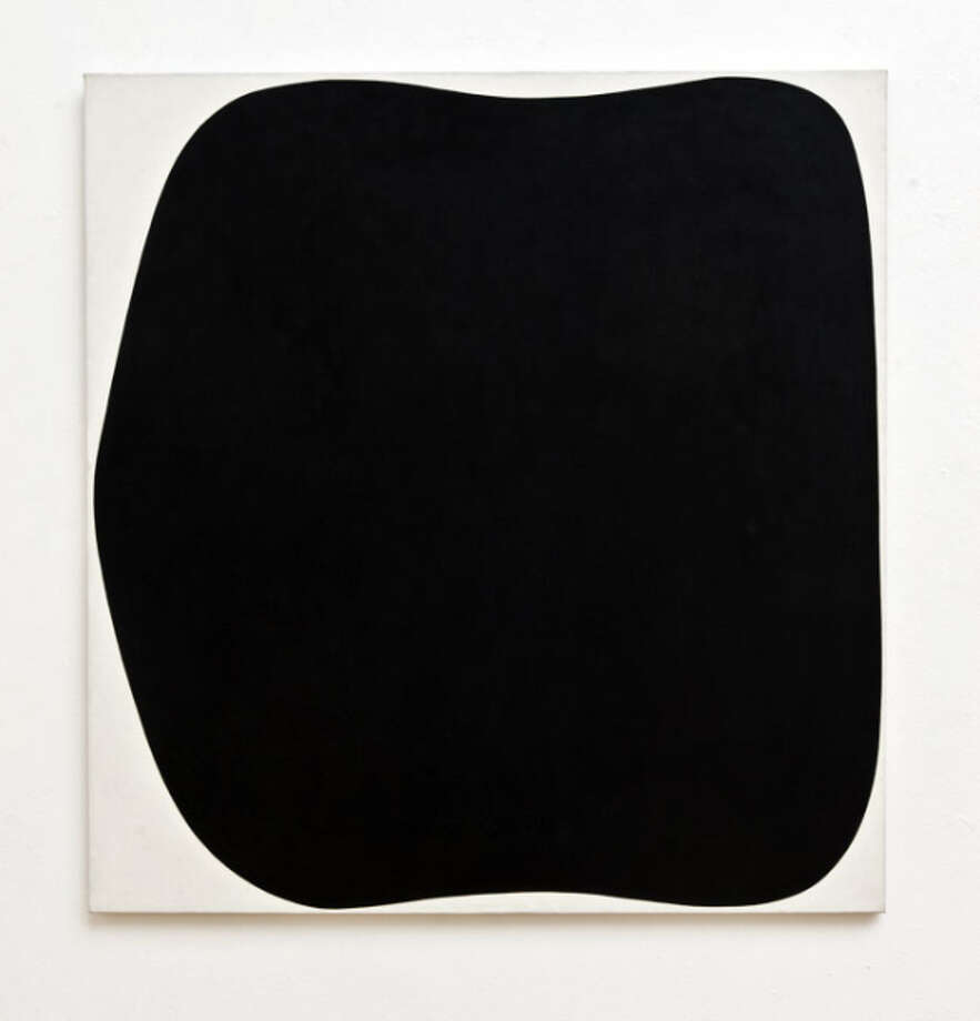 "Ellsworth Kelly 's ""Black Ripe"" (1955) is part of the Anderson Collection. Photo: Courtesy Anderson Collection / Courtesy Anderson Collection / ONLINE_YES"