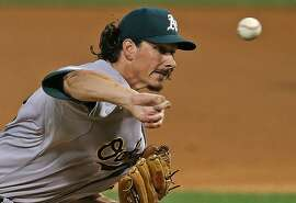 CHICAGO, IL - SEPTEMBER 10: Starting pitcher Jeff Samardzija #29 of the Oakland Athletics delivers the ball against the Chicago White Sox at U.S. Cellular Field on September 10, 2014 in Chicago, Illinois. (Photo by Jonathan Daniel/Getty Images)