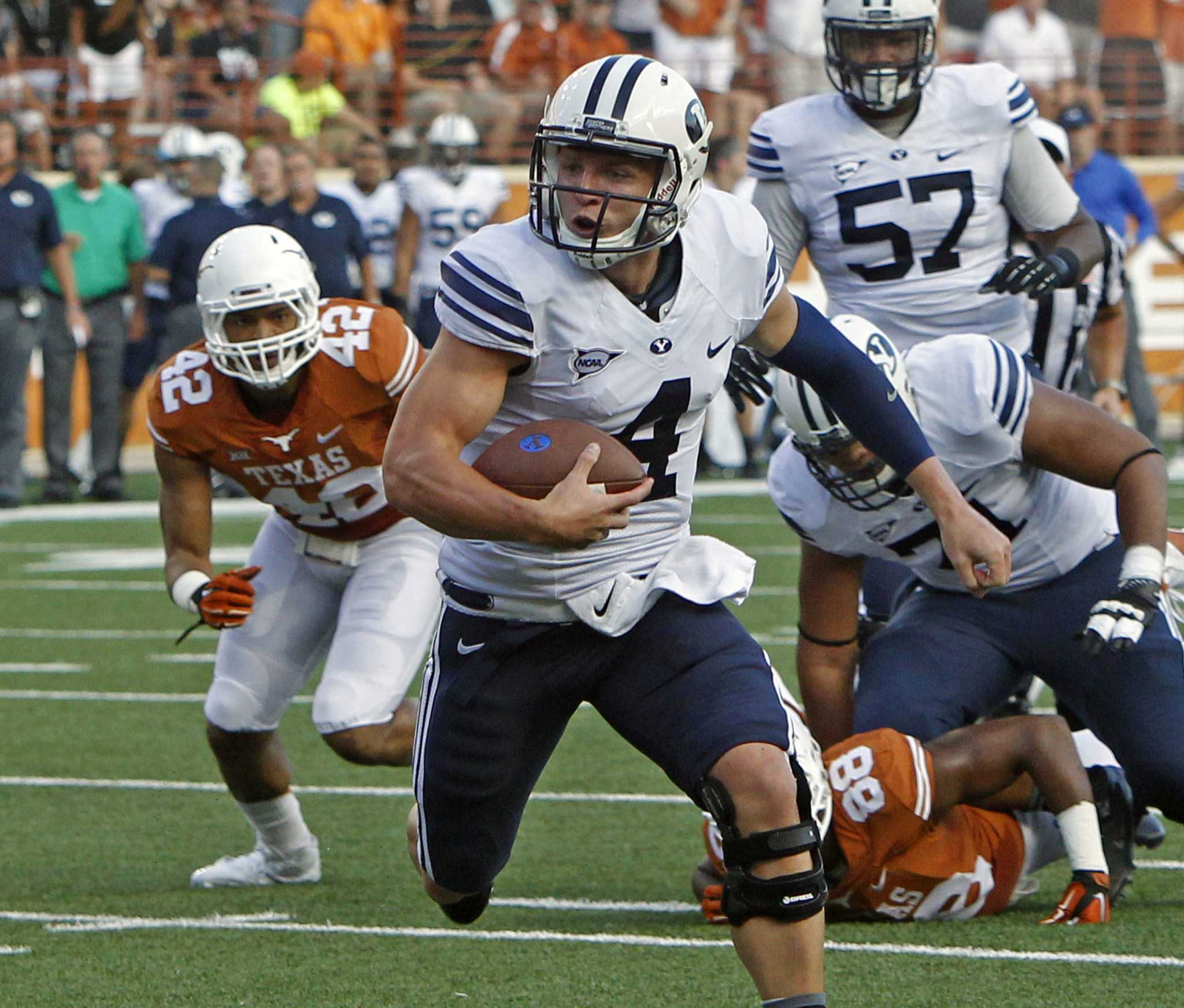 College Football Notebook: No. 25 BYU To Host Houston