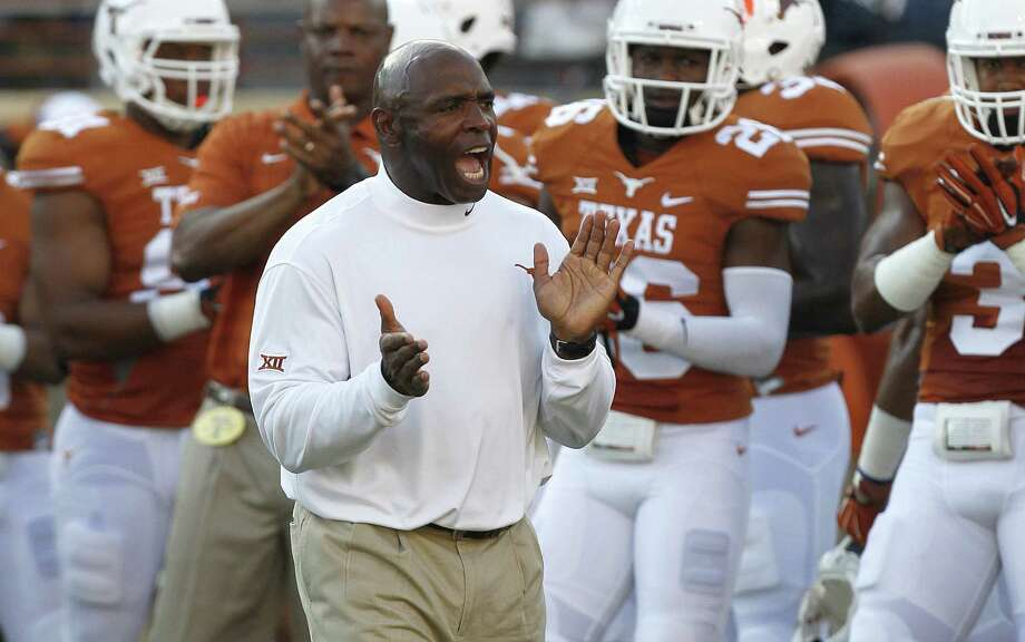 """Malcom Brown said Charlie Strong """"said he was going to do something"""" to address Texas' discipline issues, """"and he did it."""" Photo: Chris Covatta / Getty Images / 2014 Getty Images"""