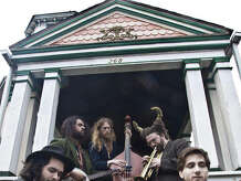 Pine Fever, a five-person band based in Buffalo, N.Y., will be making the journey south to launch the Palace Theatre's new season of Showcase 61 in downtown Stamford, Conn., on Thursday, Sept. 18, 2014. Eight performances, by local and tristate-area bands are planned through December.