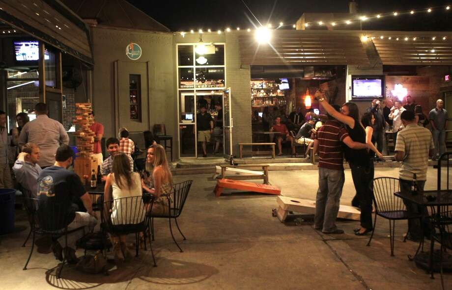 Liberty Station 2101 Washington  6 p.m. to 10 p.m.  Cost: Free entry  This laid-back neighborhood bar  is celebrating the return of Game of Thrones with a trivia contest at 6 p.m. and watch party at 8 p.m. Catch all the action via a projector screen. Photo: Cody Duty, Houston Chronicle