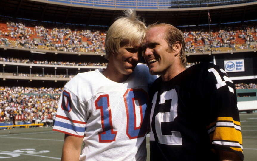 Craig Bradshaw 1980 Houston Oilers Terry Bradshaw 1970