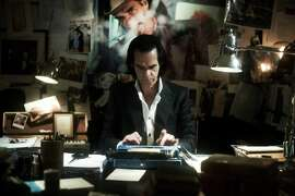 "Nick Cave in ""20,000 Days on Earth."""