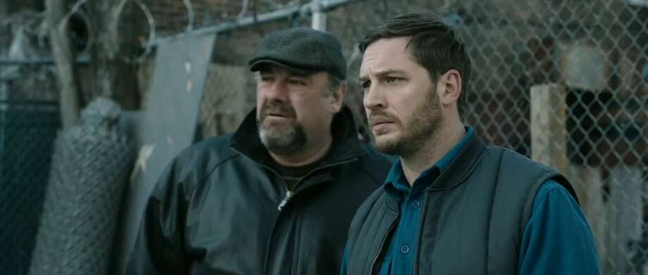 "James Gandolfini, left, and Tom Hardy star in ""The Drop."" The film marks Gandolfini's final performance. Photo: 20th Century Fox / ONLINE_YES"