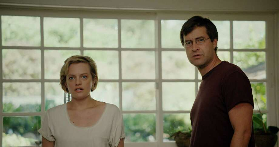 Elisabeth Moss and Mark Duplass in THE ONE I LOVE (2014). Photo: Radius-TWC