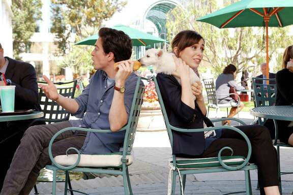 """Viewers will likely be rooting for a romance between Ben Feldman and Cristin Milioti's characters  in """"A to Z,"""" airing Thursdays."""