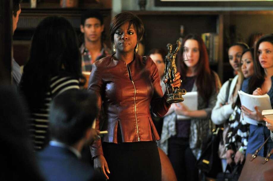 The series stars Viola Davis as a law professor/criminal defense attorney. Photo: Nicole Rivelli, ABC / ONLINE_CHECK