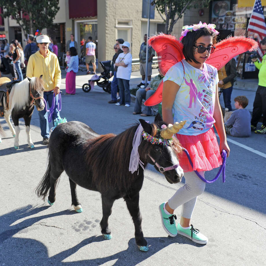 The Burlingame Pet Parade — shown here in 2013 — is a big event for the Peninsula town. Photo: Mark Hundley / ONLINE_YES