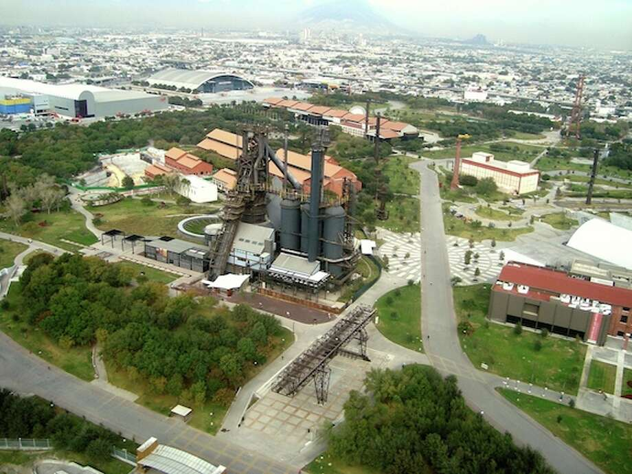 Located in the heart of Monterrey, the 351-acre Parque Fundidora — a former steel foundry — is on the World Monuments Fund's 2014 Watch List. Photo: World Monuments Fund