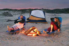 Corpus Christi-area attraction:  Mustang Island State Park  Gorgeous beaches, camping and bird watching make this stop a must on your Corpus Christi road trip.