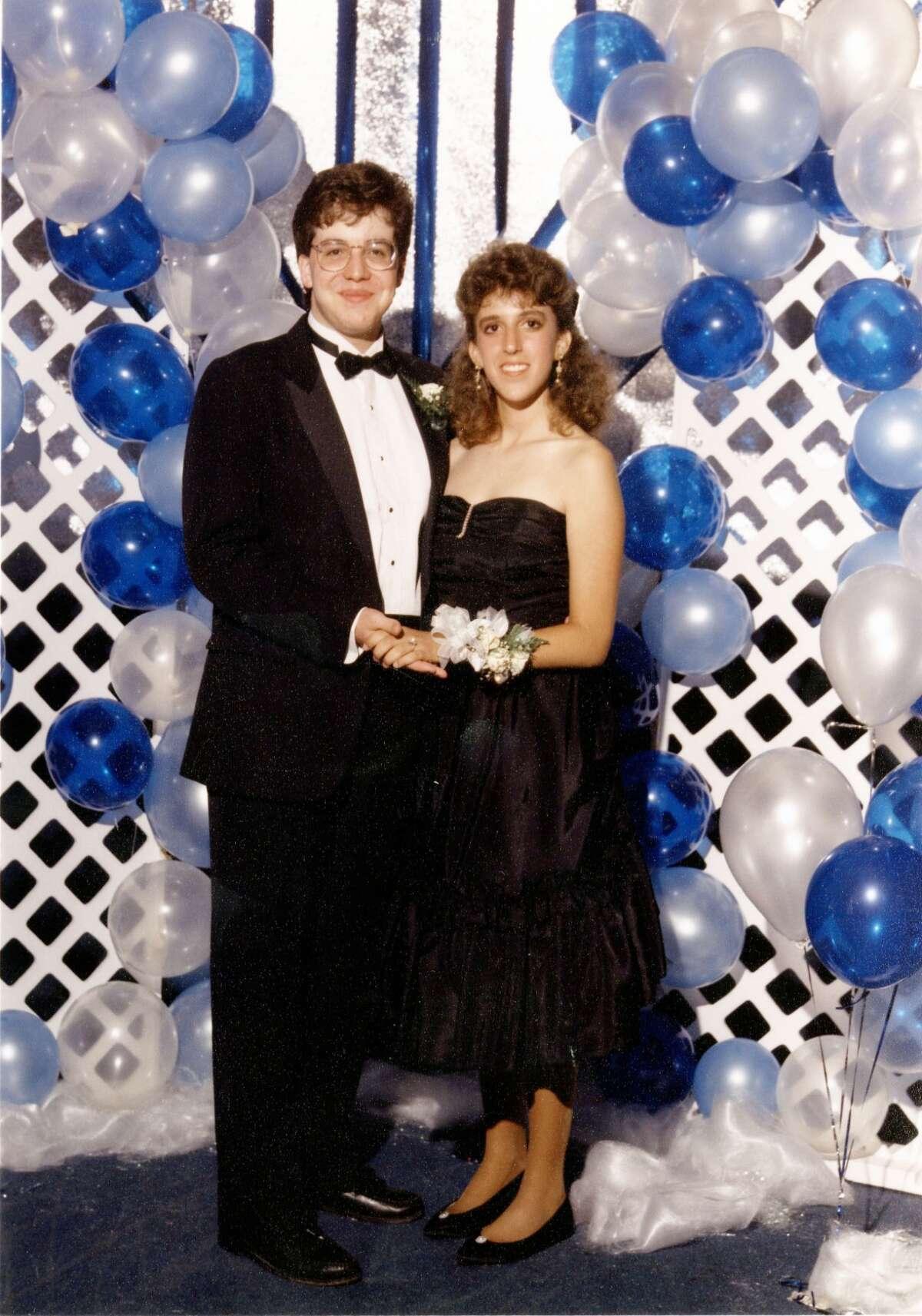 Suzanne Garofalo and Brian Mitchell, San Marcos High School, 1988